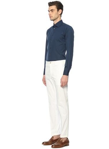 Uzun Kollu Klasik Gömlek-Eton